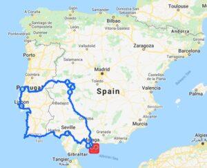 Route Extremadura